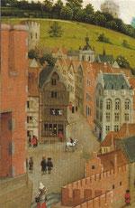 Triptychon des Pierre Bladelin Triptych (Detail), 1445-50, Staatliche Museen, Berlin