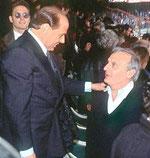 """Silvio Berlusconi (con il suo """"collega"""")"""
