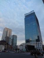 東京駅とJPタワー