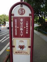 東京芸術大学の前