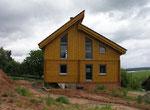 Moderne Architektur aus finnischer Polarkiefer