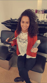 Melissa, Auszubildende zur Friseurin