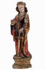 "Skulptur ""Hl. Katharina"""