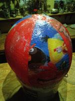 0,5m Wasserball laminiert