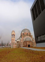 Hotel Gracanica, Pristina / Prishtina: orthodox church in Prishtina