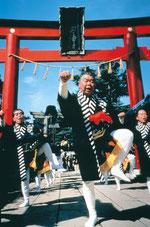 竹駒神社初午大祭 (写真提供:宮城県観光課)