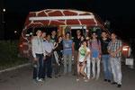 umrundet von kasachischen Studenten