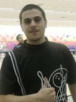 Ahmad Al Deyab - First qualifier who scores 300 Perfect Game