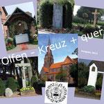Radkarte 'Olfen - Kreuz+quer'