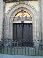 Wittenberg, Schloßportal, an dem Thesen angeschlagen wurden