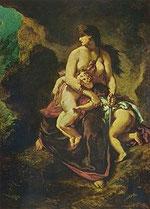 Medea von Eugène Ferdinand Victor Delacroix