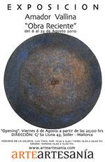 "Amador Vallina: Ausstellung ""Obra Reciente"", ArteArtesania´, Sóller"