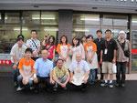 STV木村洋二さんとスタッフの皆さんとともに。