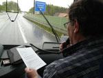 Auf dem Weg nach Einsiedeln