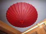 和傘 天井
