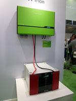 Wechselrichter und Ladesystem Regelung Speicher