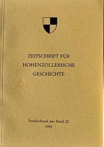 Manuel Werner: Die Juden in Hechingen als religiöse Gemeinde, Teil 1