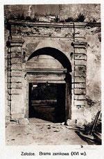 Ворота замку (20 роки XX ст.)