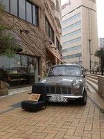 移動カフェ mini van