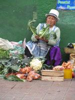 Indigenes Gemüse. (Cuenca)