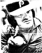 Pete Rose before the opener.