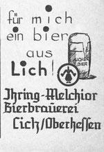 """Werbing aus der Schülerzeitung """"Das Fenster"""""""