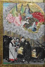 Scène de funérailles - XVe Bibliothèque royale de Belgique