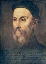 Jean Calvin 1509-1564 peint par Le Titien