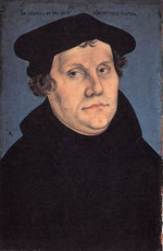 Martin Luther - 1483-1546  Lucas Cranach l'Ancien