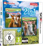 Packshot 2in1: Mein Fohlen 3D + Mein Reiterhof 3D – Rivalen im Sattel