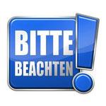 "Grafik: ""Bitte Beachten"", Bildquelle: © THesIMPLIFY - Fotolia.com"