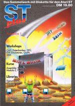 Scan des ST plus Sammelwerkes für Atari ST Computer, hier Ausgabe 1