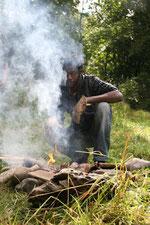 La cuisson des moules (photo Nathalie Fastres 3/8/2012)