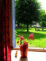 vue de la chambre Gite Rarécourt près de Clermont en Argonne