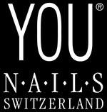 Logo YOU Nails Switzerland Nagelkosmetik Nail-Produkte Schweiz Marktführer