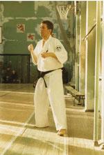 Тренировка в зале школы №20, 1998 год