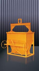 Cubilote de hormigón rectangular