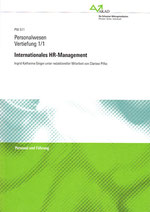 Internationales HR-Management