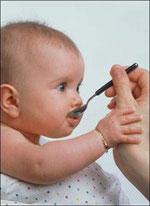 Кушает малыш