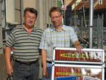 Erhard Widl und Kurt Broneder