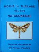 Book, Moth's of Thailand, Vol. 5, Notodontidae