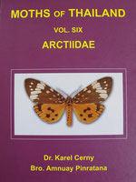 Book, Moth's of Thailand, Vol. 6, Arctiidae