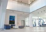 Raumundfunktion, Grundriss, Office, Officeplanung, Innenarchitektur, Yaskawa, Eingangsbereich, Rendering