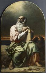 Charles Gleyre, Saint Jean sur l'ile de Patmos, Musée d'Abbeville, © Bréjat-RMN