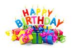 Herzlichen Glückwunsch - Happy Birthday