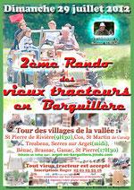 2ème rando des vieux tracteurs en Barguillère