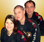 Verena, Dennis und Hansi