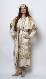 Oksana Pikush. garment' design by Alyna Shchygoleva