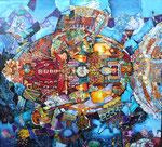 Fish-2/Рыба -2, 90x100, 2009 Oleg Schigolev