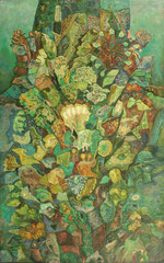 IL VERDE. olio su tela,Oleg Schigolev / ЗЕЛЕНЫЙ